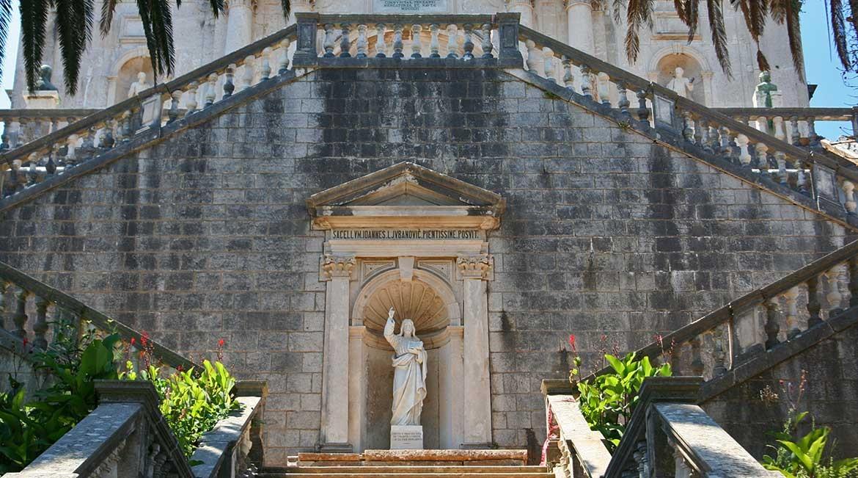 Bogorodicin Hram church in Prcanj.