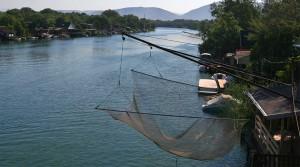 The Bojana river.