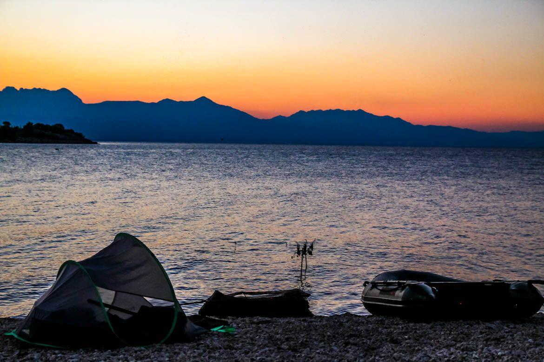 Fishing in Montenegro.