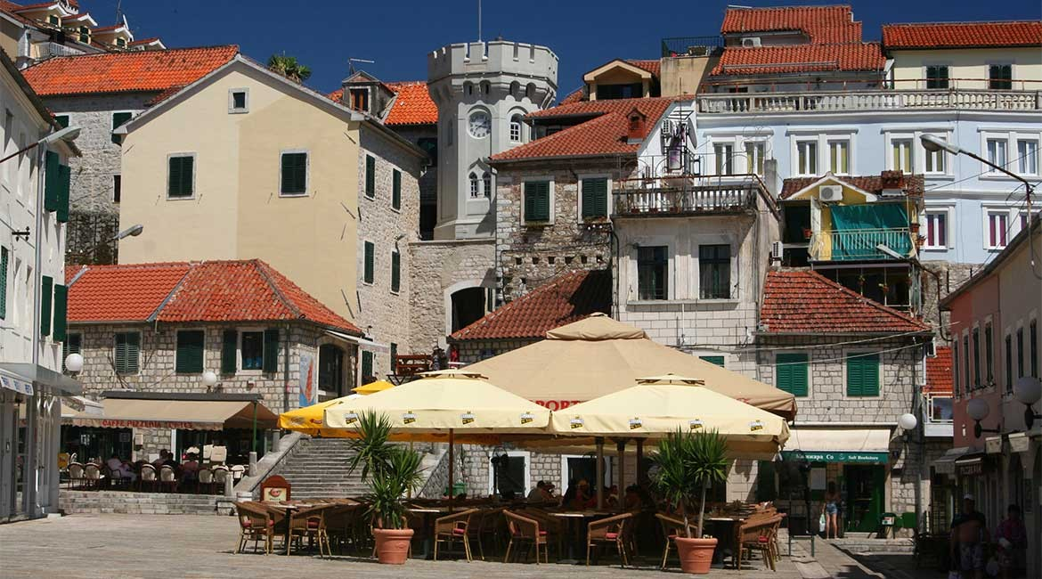 The town of Herceg Novi.