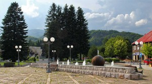 The town of Kolasin.
