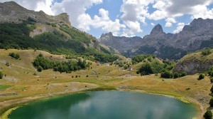 The Kucka Krajina mountain range.