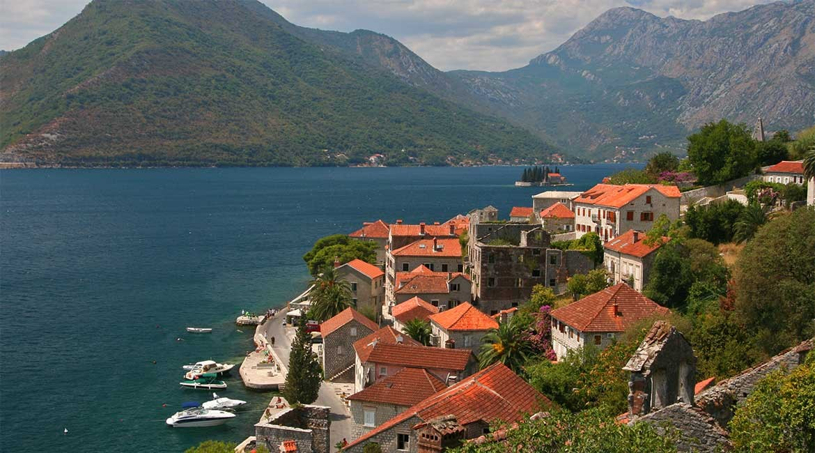 The town of Perast.