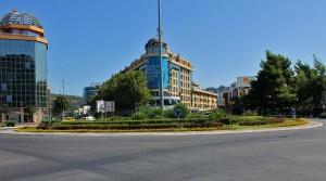The capitol Podgorica.