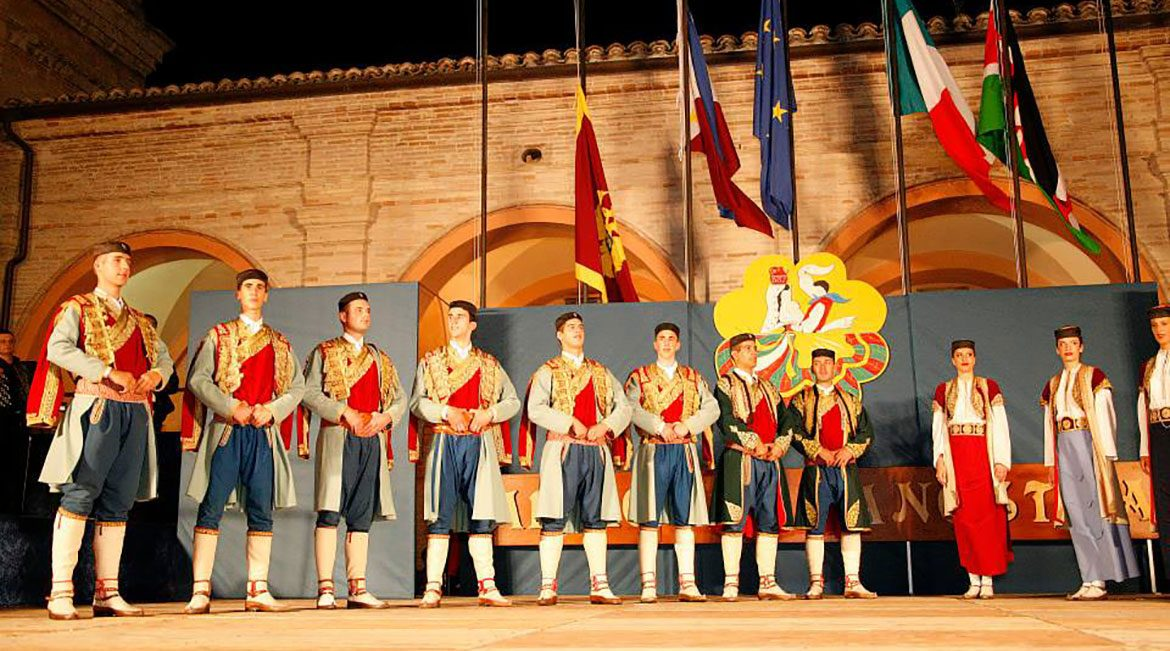 The traditional costume of Montenegro.