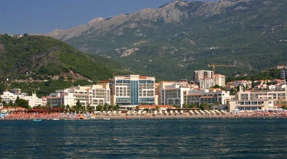 The village of Becici.