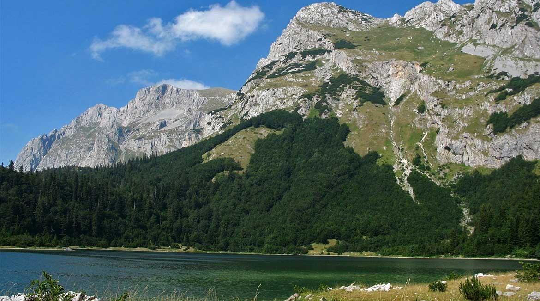 The Bioc mountain range.