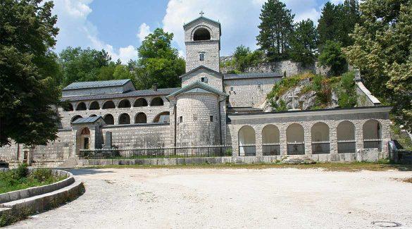 The cetinje monastery.
