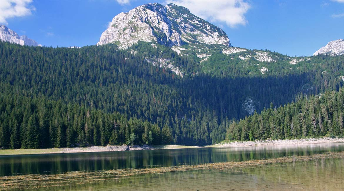 The crno jezero in the Durmitor range.
