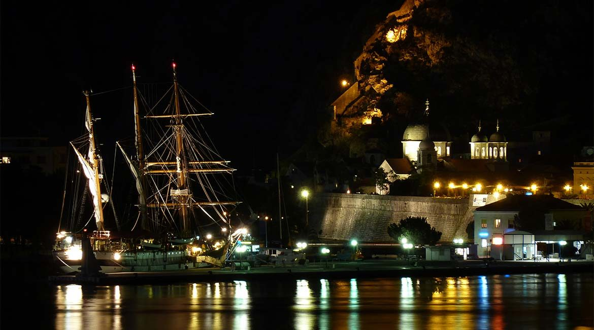 The sailing ship jadran.