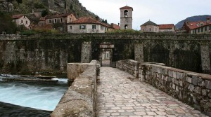 The gates of the old town of Kotor.