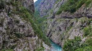 The Moraca canyon.
