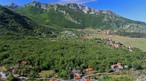 The village of Njegusi.