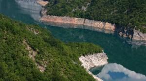 The Piva river.