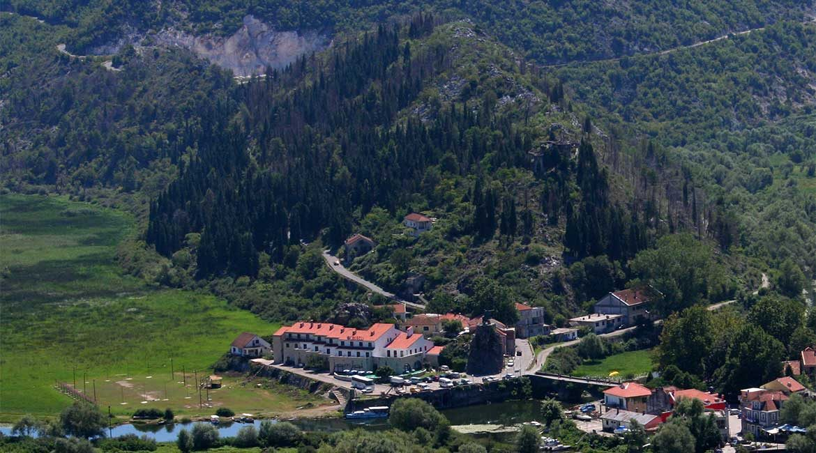 The town of Virpazar.
