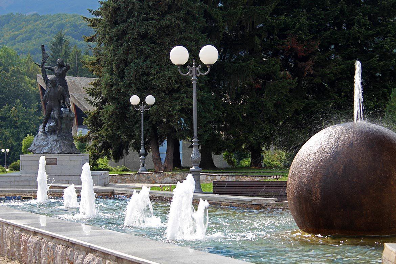 The center of Kolasin.