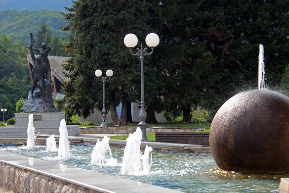 The center of Kolasin.