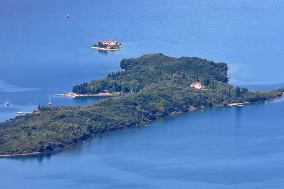 The Sveti Marko island in the Boka Kotorska.