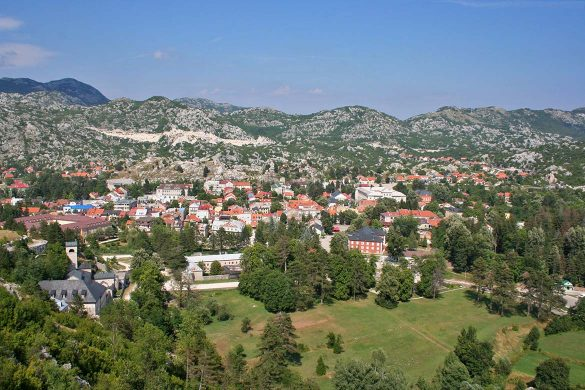 The city of the Cetinje.