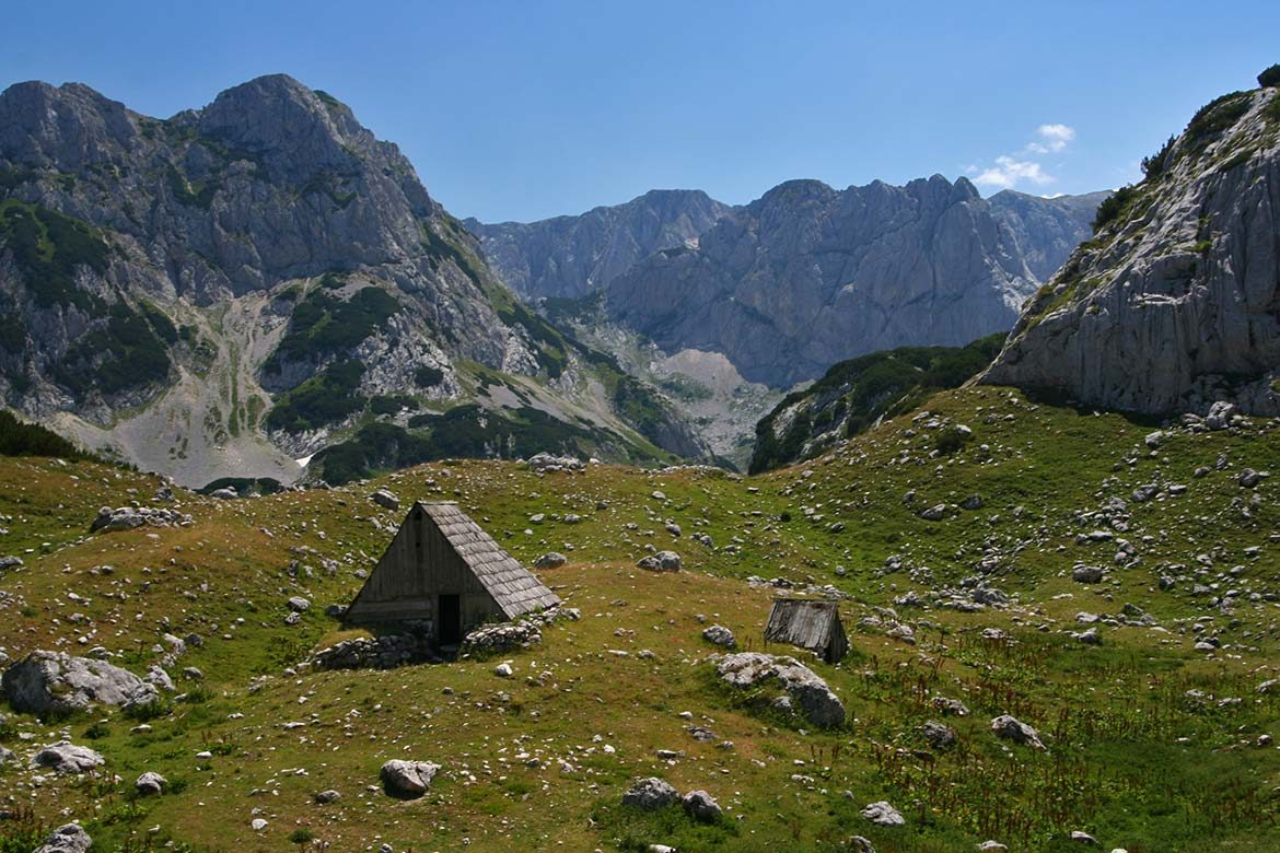 Durmitor mountains in Montenegro.