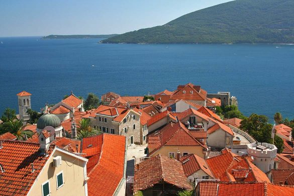 The city of Herceg Novi.