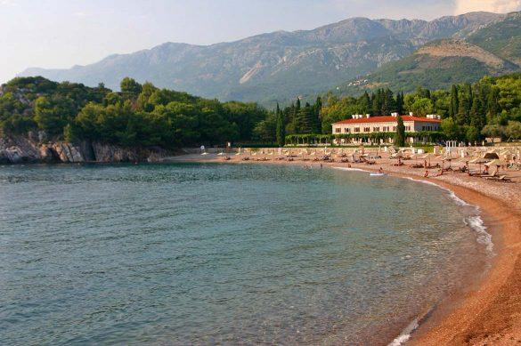 Milocer in Montenegro.