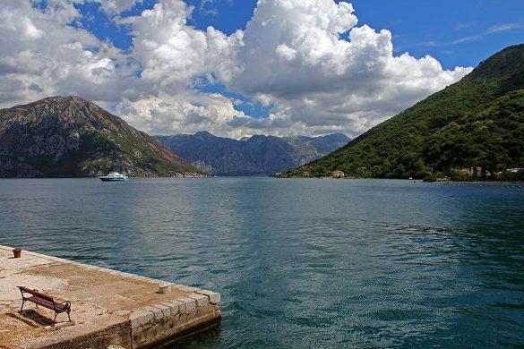 The village of Morinj in Montenegro.
