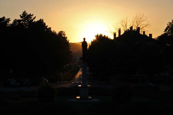 Sunset in Niksic.