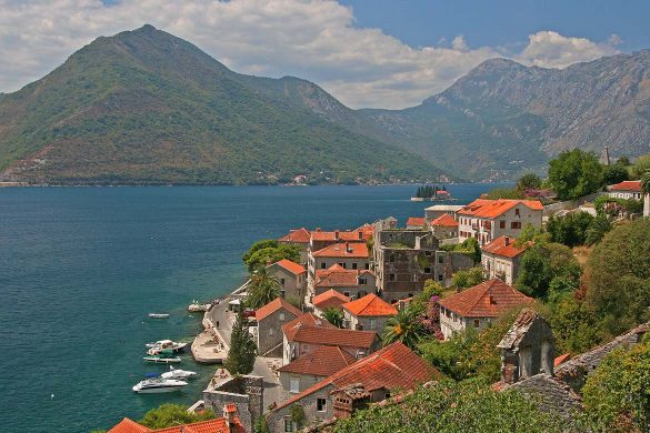 The city of Perast.