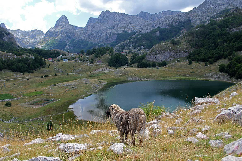 Kucka krajina mountain range.
