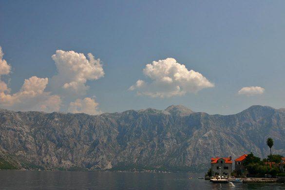 The stoliv village in Montenegro.