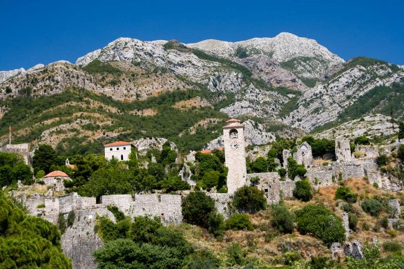 The city of Bar in Montenegro.
