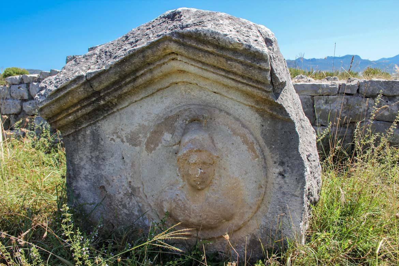Ancient site of Duklja in Montenegro.
