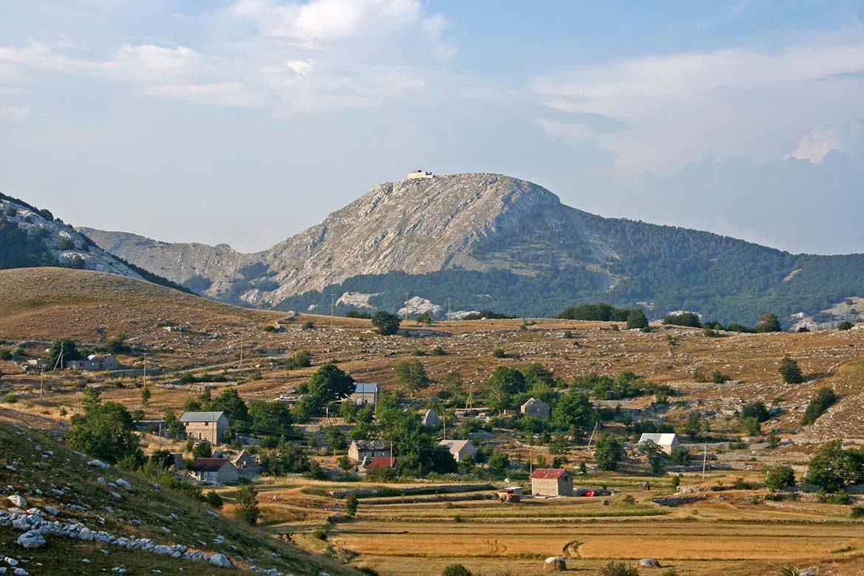 Lovcen national park in Montenegro.
