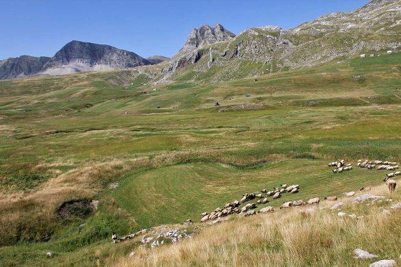Moracke planine in Montenegro.