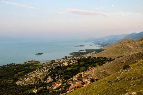 The village of Donji Murici in Montenegro.
