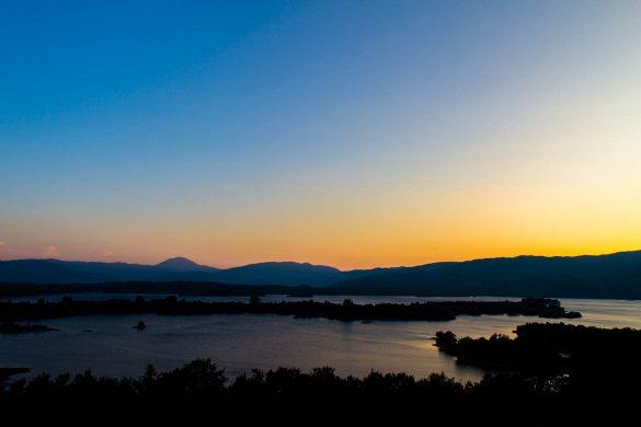 The Krupac lake in Montenegro.
