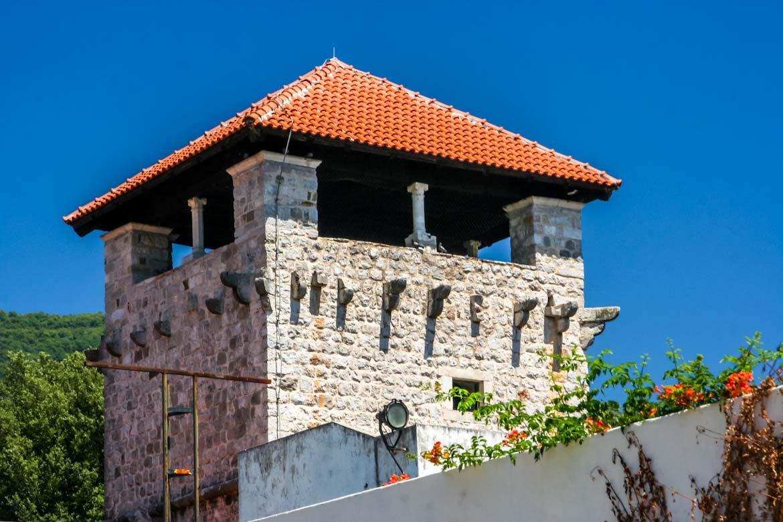 The Buca castle in Tivat.