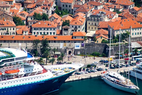 The city of Kotor.