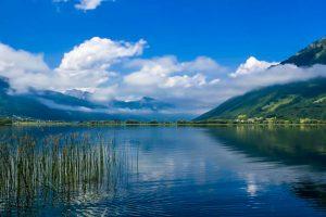 The Plavsko Jezero lake at Plav.