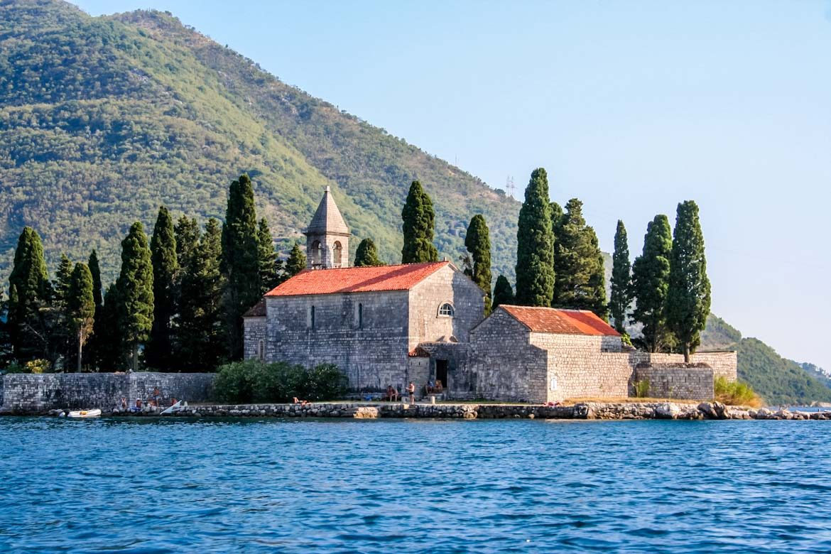 The Sveti Djordje island at Perast.