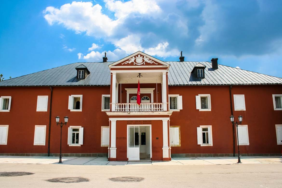 King Nikola museum in Cetinje.