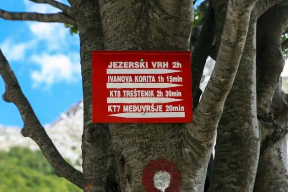 Lovcen nationaal park