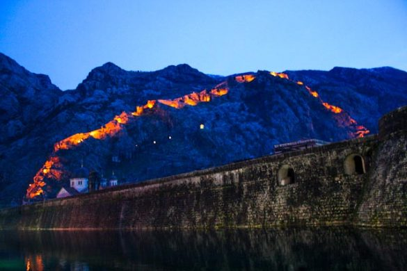 Kotor's oude stad