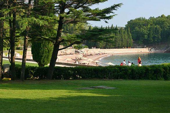 Budva stranden