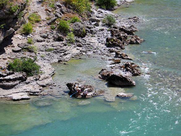 moraca ravijn/rivier