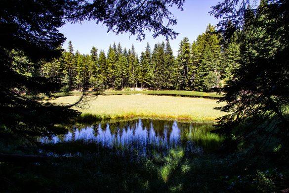 The Visitorsko Jezero.